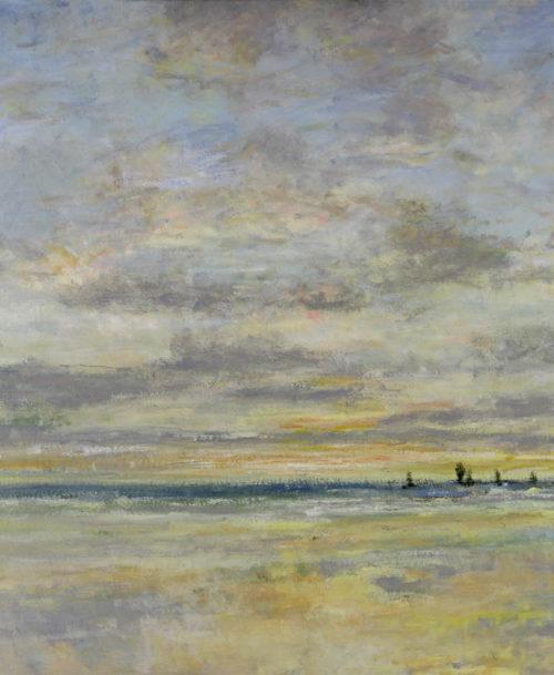 Après-midi sur la plage du Havre
