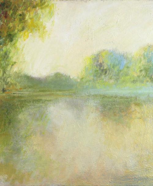 Etude du matin, bord de Seine