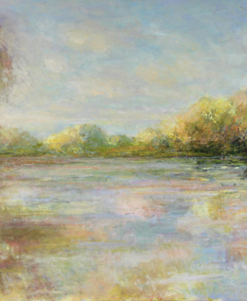 Lumière d'automne sur la Seine
