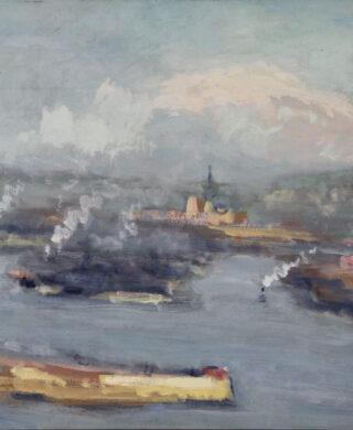 Vue de Rouen