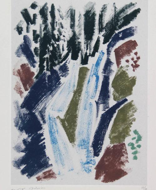 La cascade bleue