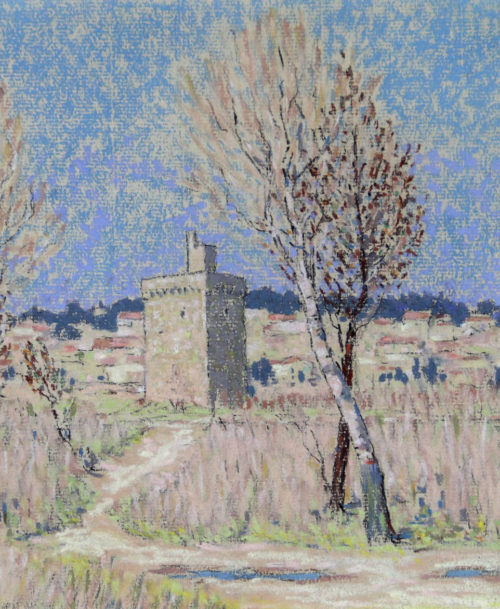 La tour Philippe Le Bel à Villeneuve les Avignon