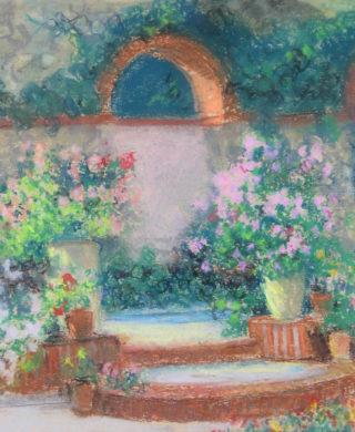 Le jardin à Vaux