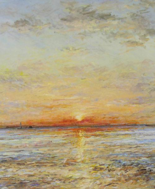Coucher de soleil au Havre