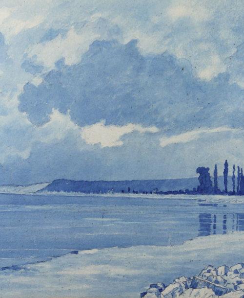 L'estuaire de la Seine à Honfleur
