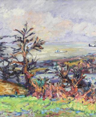 Paysage à Honfleur