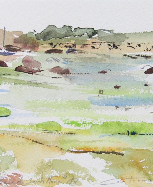 Trégastel la baie de Sainte-Anne