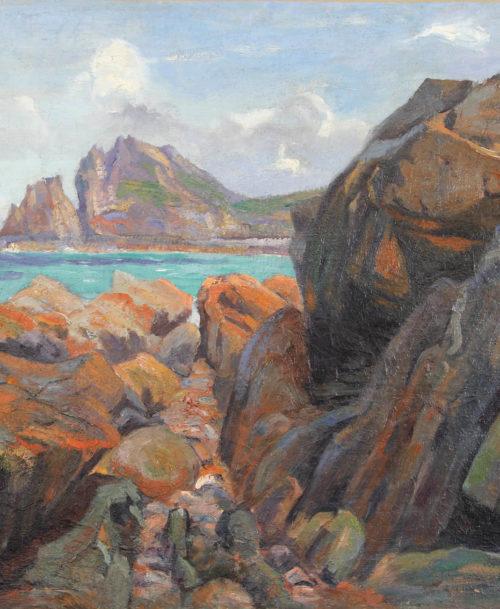 Les rochers à Perros-Guirec