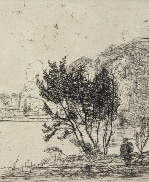 Bord de Seine à Puteaux