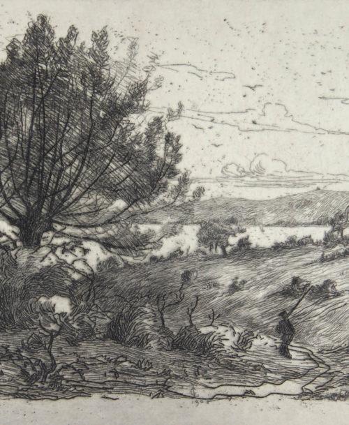 Chemin creux à Fontarrabie