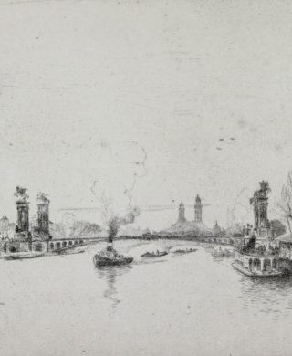 Paris, Le pont Alexandre