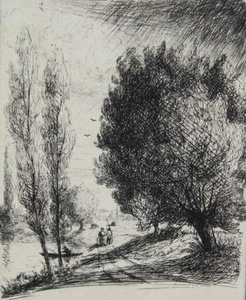 Promenade au bord de Seine