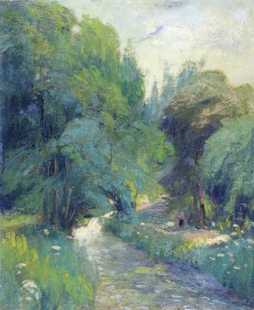 Rivière en Pays de Caux