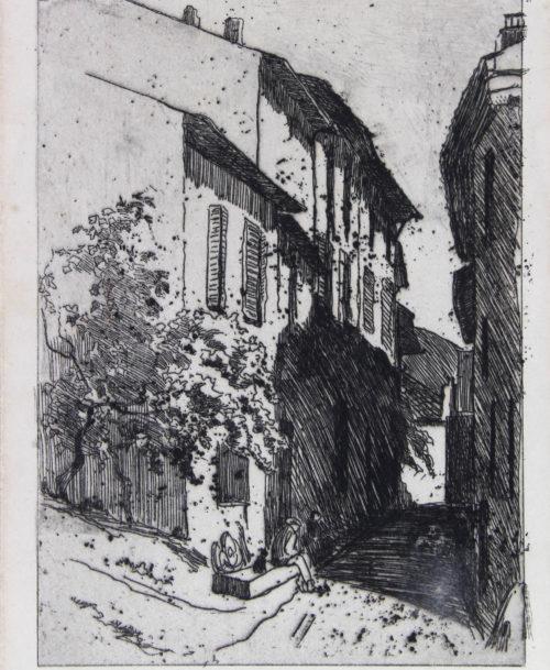 Vieille rue à Cassis