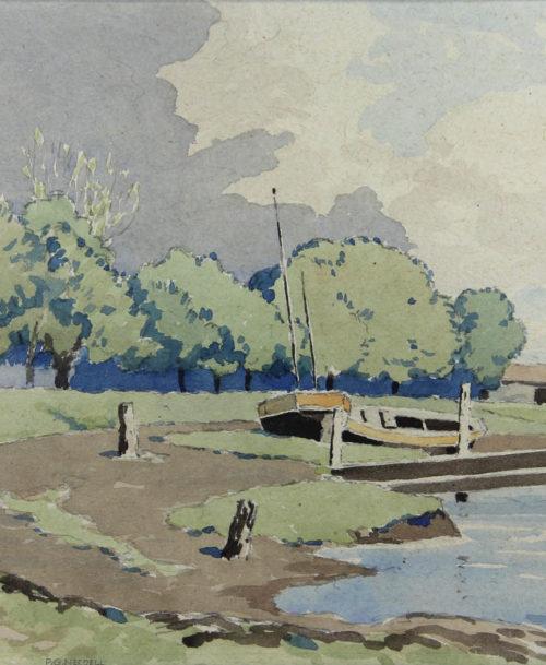 Rivière dans le Sussex – Le port
