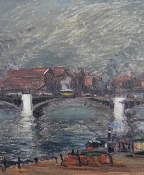 Les quais à Rouen