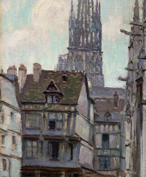Rouen, La place Barthélémy