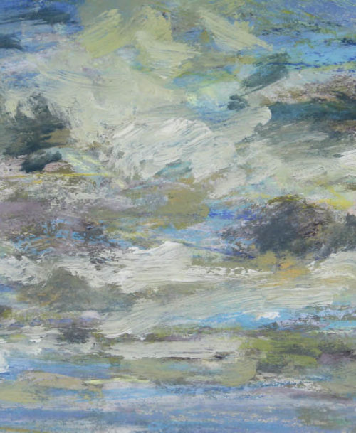 Etude de nuages après la pluie