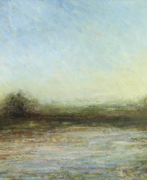 Le lever du jour en bordure de lac