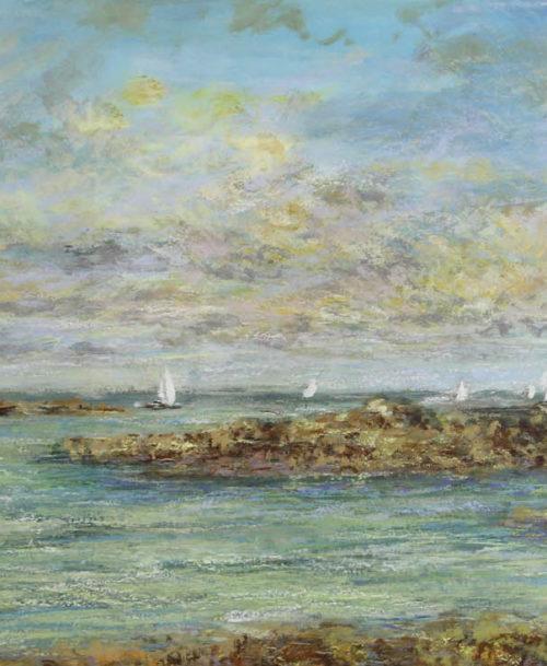 Sortie en mer à Chausey