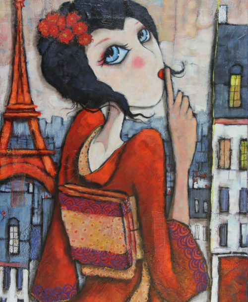 Geisha à Montmartre