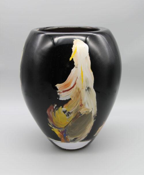 Grand vase noir