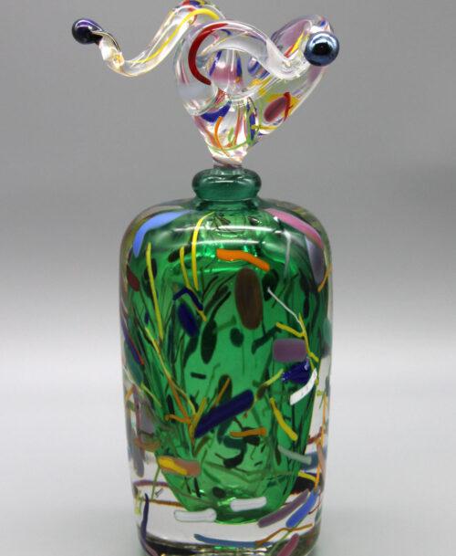 Flacon Arlequin vert