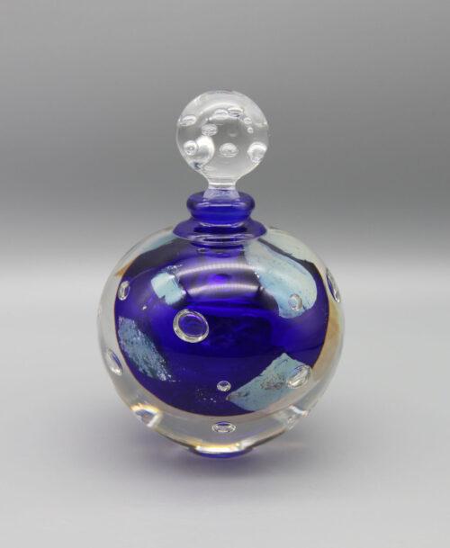 Flacon Perles de Lune bleu cobalt