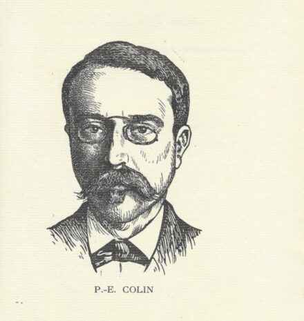 Biographie de Paul-Emile Colin COLIN