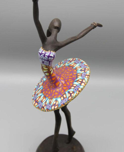 La danseuse au tutu rose et bleu