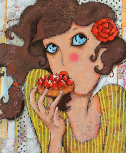 La tarte au fraises
