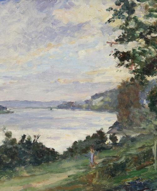 Bord de Seine à Villequier
