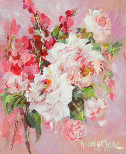 3 roses blanches