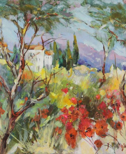 Soir en Toscane