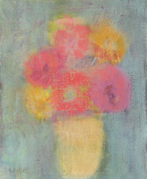 Le bouquet de Zinias