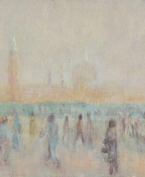 Promeneurs à Venise