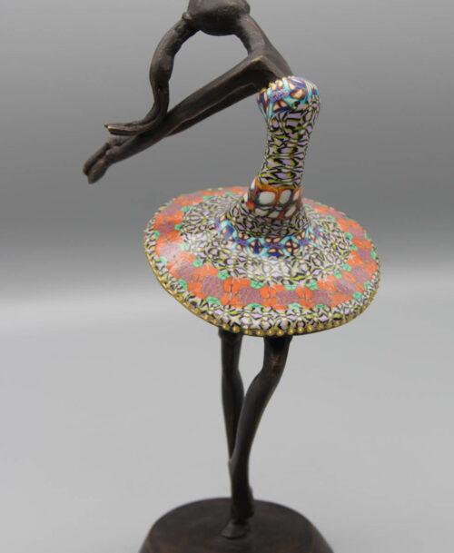 La danseuse au tutu mauve