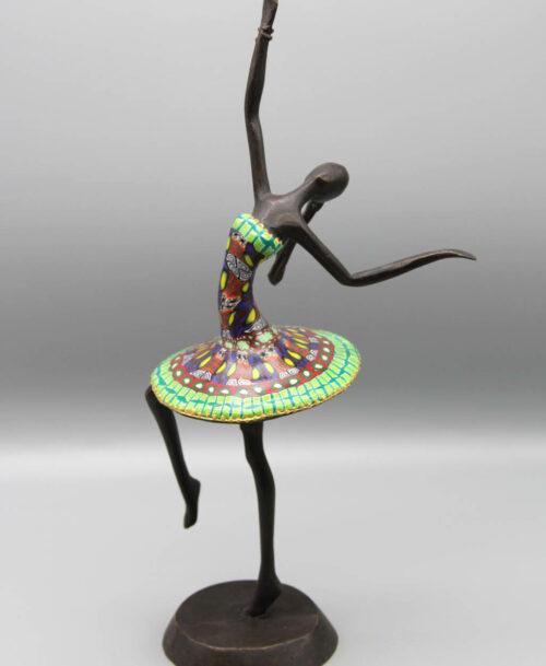 La danseuse au tutu vert