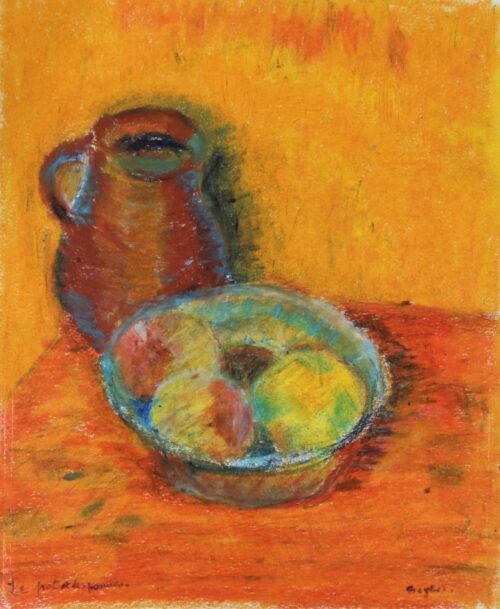Le pot et les pommes