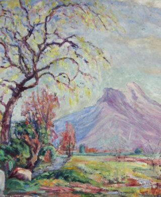 Paysage de montagne à l'automne